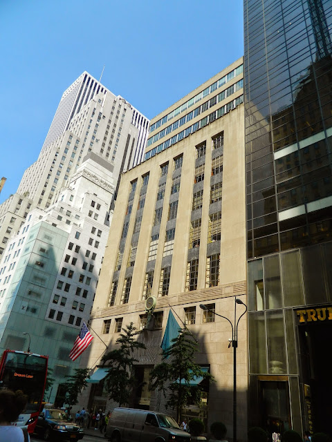 new york city tiffany and co building flagship store architecture 5th avenue