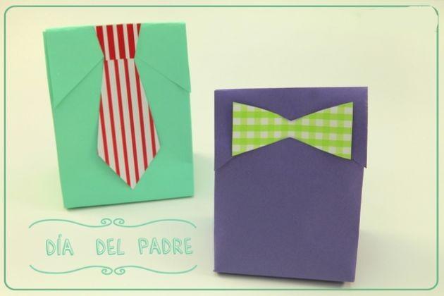 Originales bolsas para regalo manualidades para el papa un mundo de manualidades - Regalos originales para mi padre ...