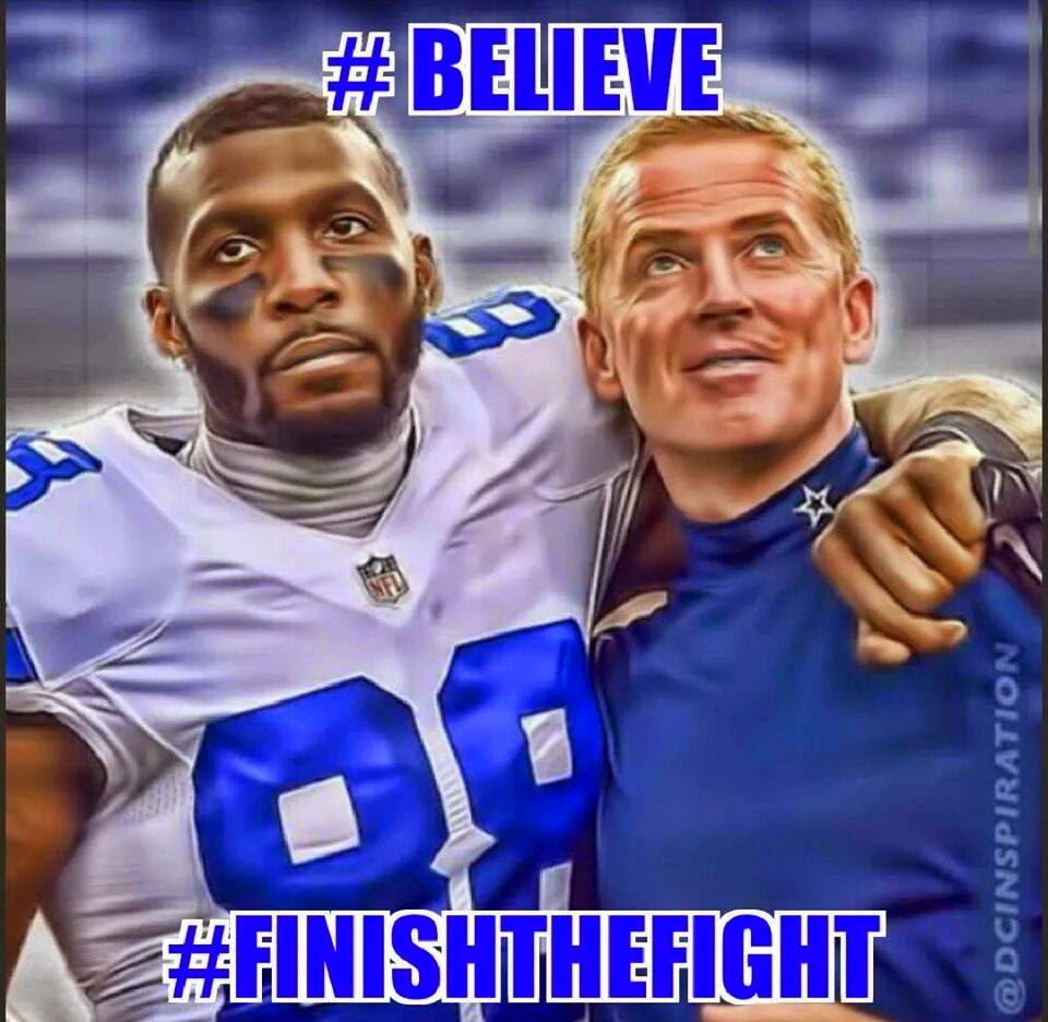 #believe #finishthefight - #Cowboys