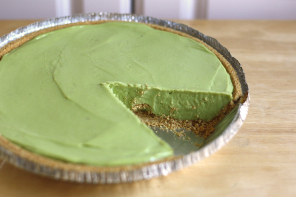 An avocado pie for St. Patrick's Day | How About Orange