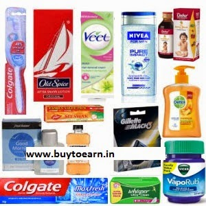 Buy Colgate, Whisper, Gillette, Dabur, Dettol,Park Avenue, Nivea Minimum 20% off from Rs. 24