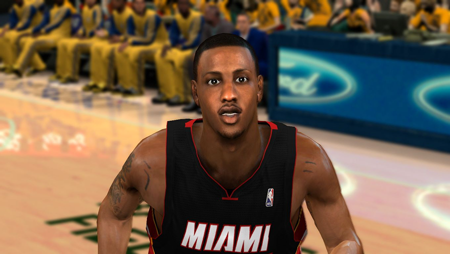 NBA 2K14 Mario Chalmers Face Mod