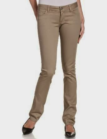 Skinny Khaki Pants For Women