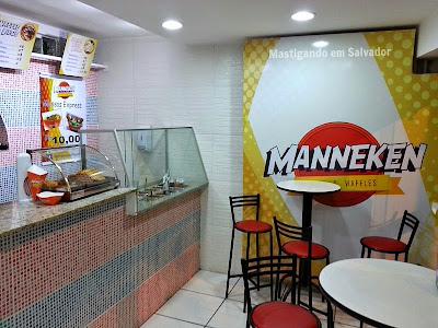 Manneken Fritas e Waffles: Ambiente
