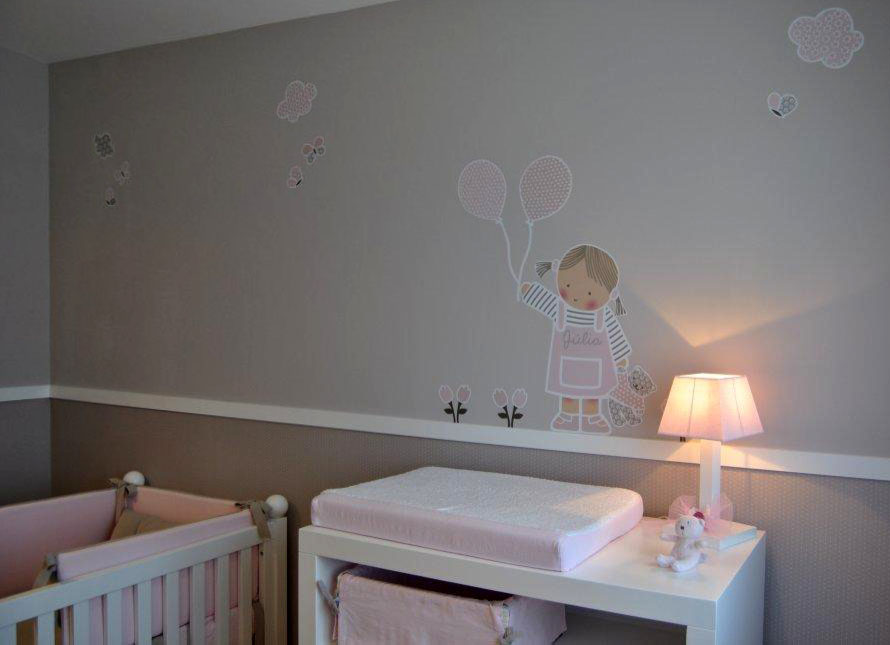 Vinilos infantiles personalizados for Vinilos pared personalizados
