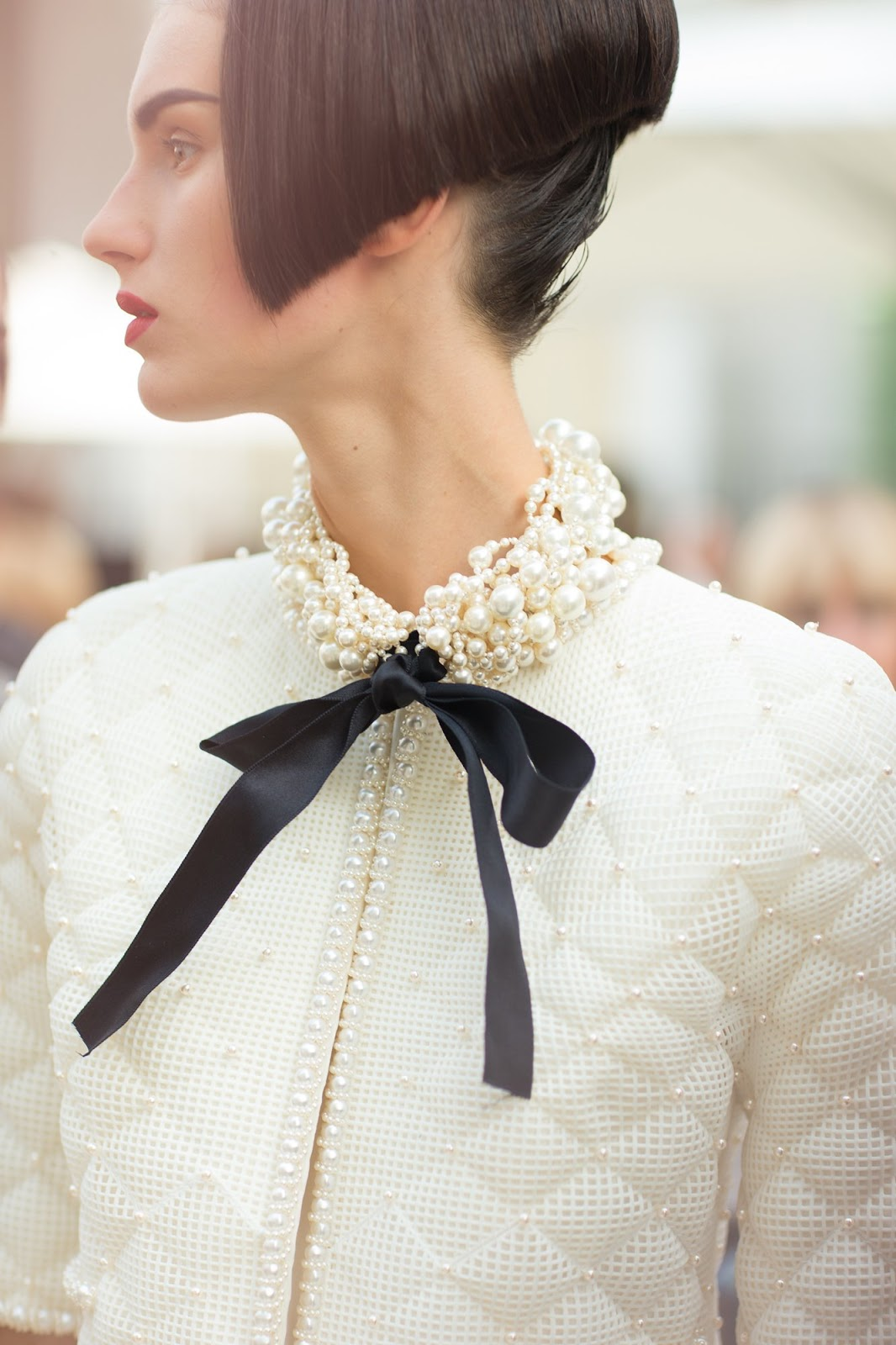 Haute Couture Chanel Fall Winter 2015 2016 Fashion Runway Cool Chic Style Fashion