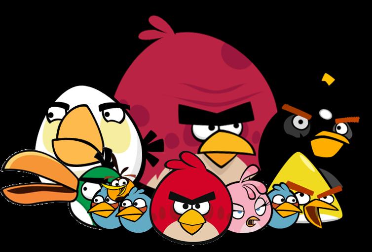 Angry Birds tamaño XXL