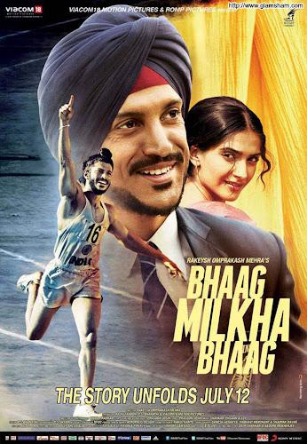 Bhaag Milkha Bhaag (2013) Movie Poster
