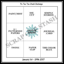 January Tic Tac Toe Stash Challenge