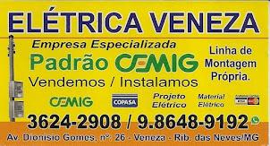 ELÉTRICA VENEZA PADRÃO CEMIG