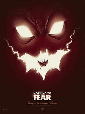 "Batman: The Animated Series ""Nothing to Fear"" Screen Print by Phantom City Creative & Mondo"