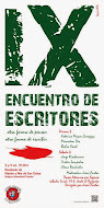 IX Encuentro de Escritores «Otra forma de pensar, otra forma de escribir > Segovia 3 y 4 de Octubre