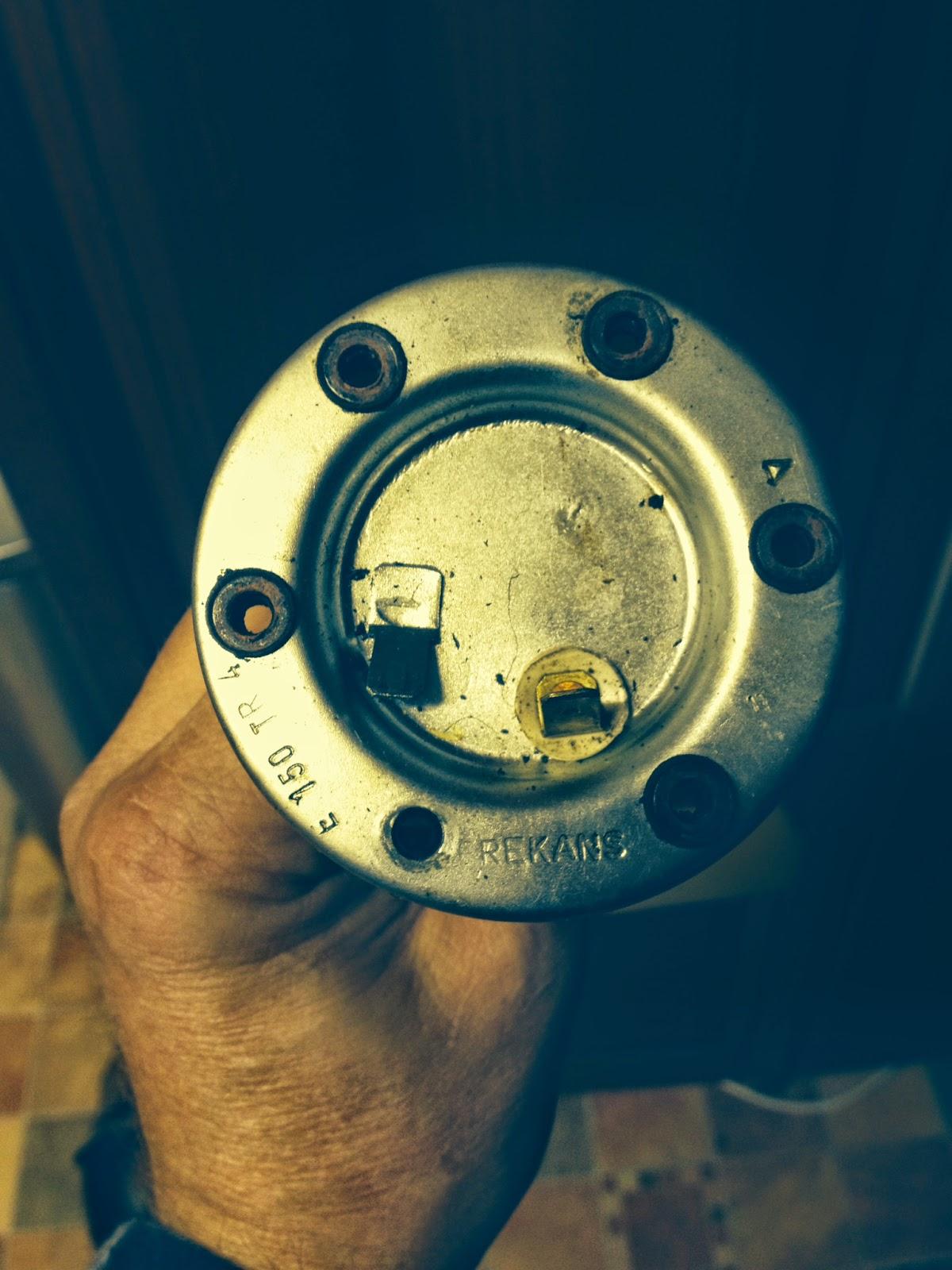 New Fuel Tank Gas Gauge Sending Unit Lock Ring /& Seal Triumph Spitfire Uprated