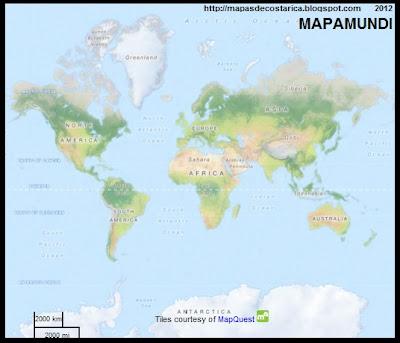 Mapamundi, OpenstreetMap