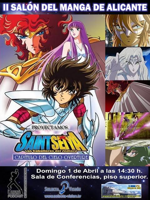 Vídeo de promoción en honor a Selecta Visión, Editores de Tebeos y Namco Bandai Cartel+proyecci%C3%B3n+SMA+01