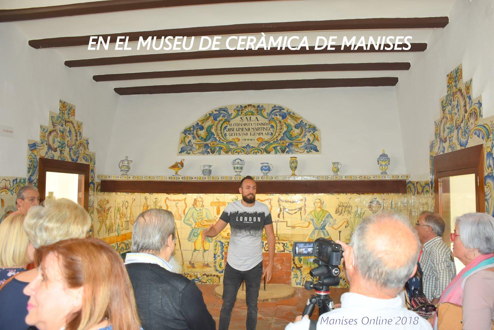 19.05.18 DIA DELS MUSEUS EN MANISES, VISITA CULTURAL
