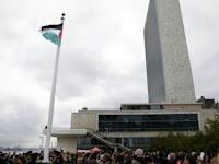 Wujud Rasa Solidaritas, Bendera Palestina Berkibar di Dublin, Irlandia