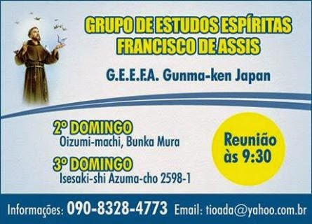 Grupo de Estudos Espíritas Francisco de Assis