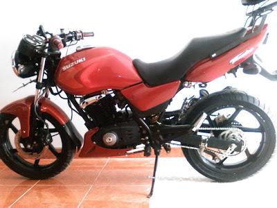 Modif thunder 125 cc