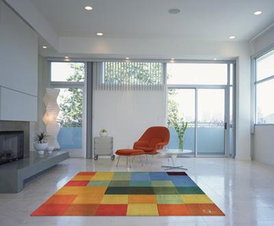 alfombra moderna