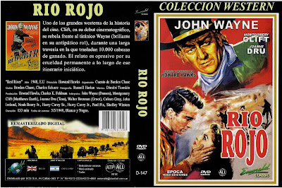 Cover, dvd, caratula: Río Rojo | 1948 | Red River