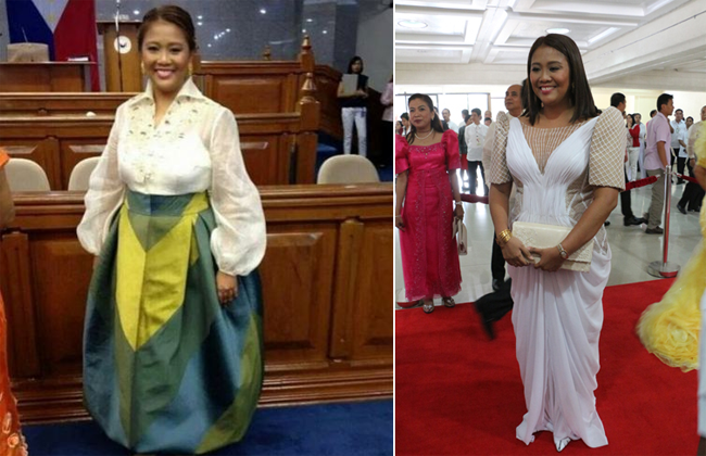Nancy Binay did Not Regret Wearing Her Outfit during SONA Designed by Randy Ortiz