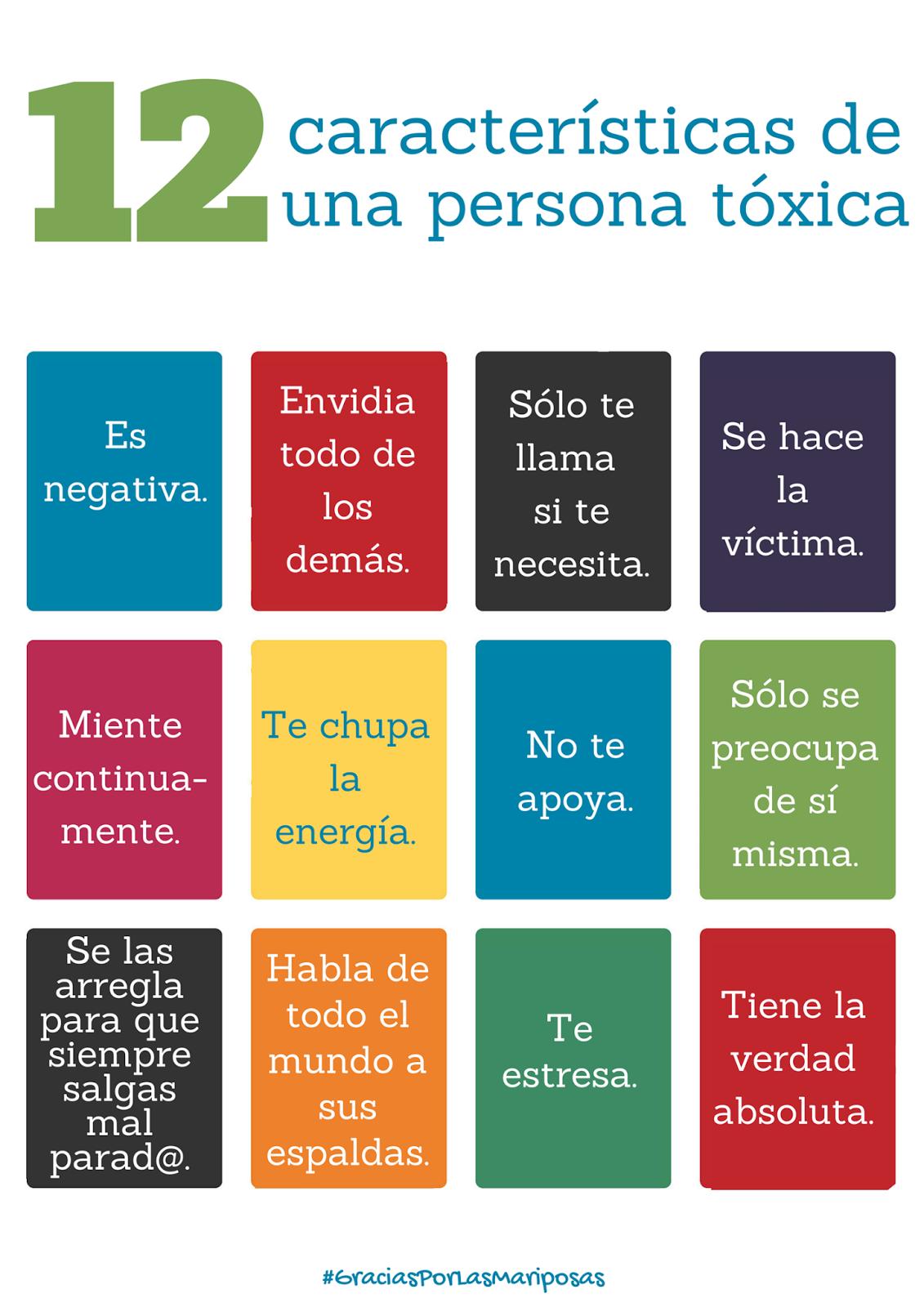 12 caracter sticas de una persona t xica gracias por las - Como quitar la mala energia de una persona ...