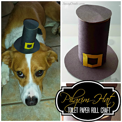 pilgrim hat toilet paper roll craft
