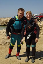 try diving in cyprus with scuba tech diving centre