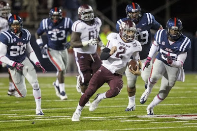 Johnny Manziel declared more of a complete quarterback in 2013 by Ole Miss head coach Hugh Freeze.