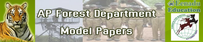 AP Forest Department Exam Model Papers
