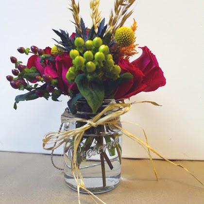 DIY Mason Jar Floral Arrangements