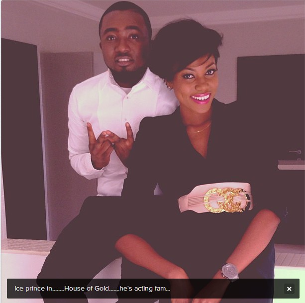 ice prince and yvonne nelson