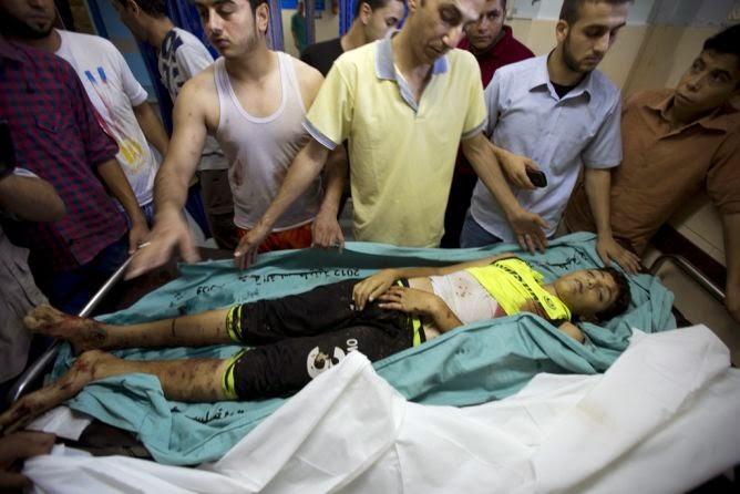 Israel, pare o massacre contra os palestinos