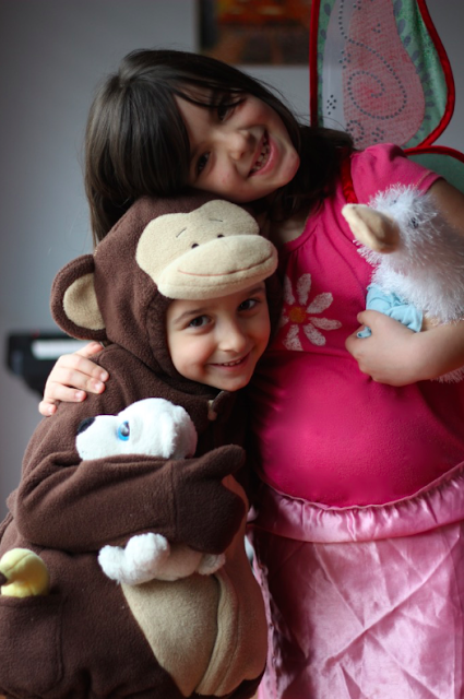 monkey and butterfly costumes