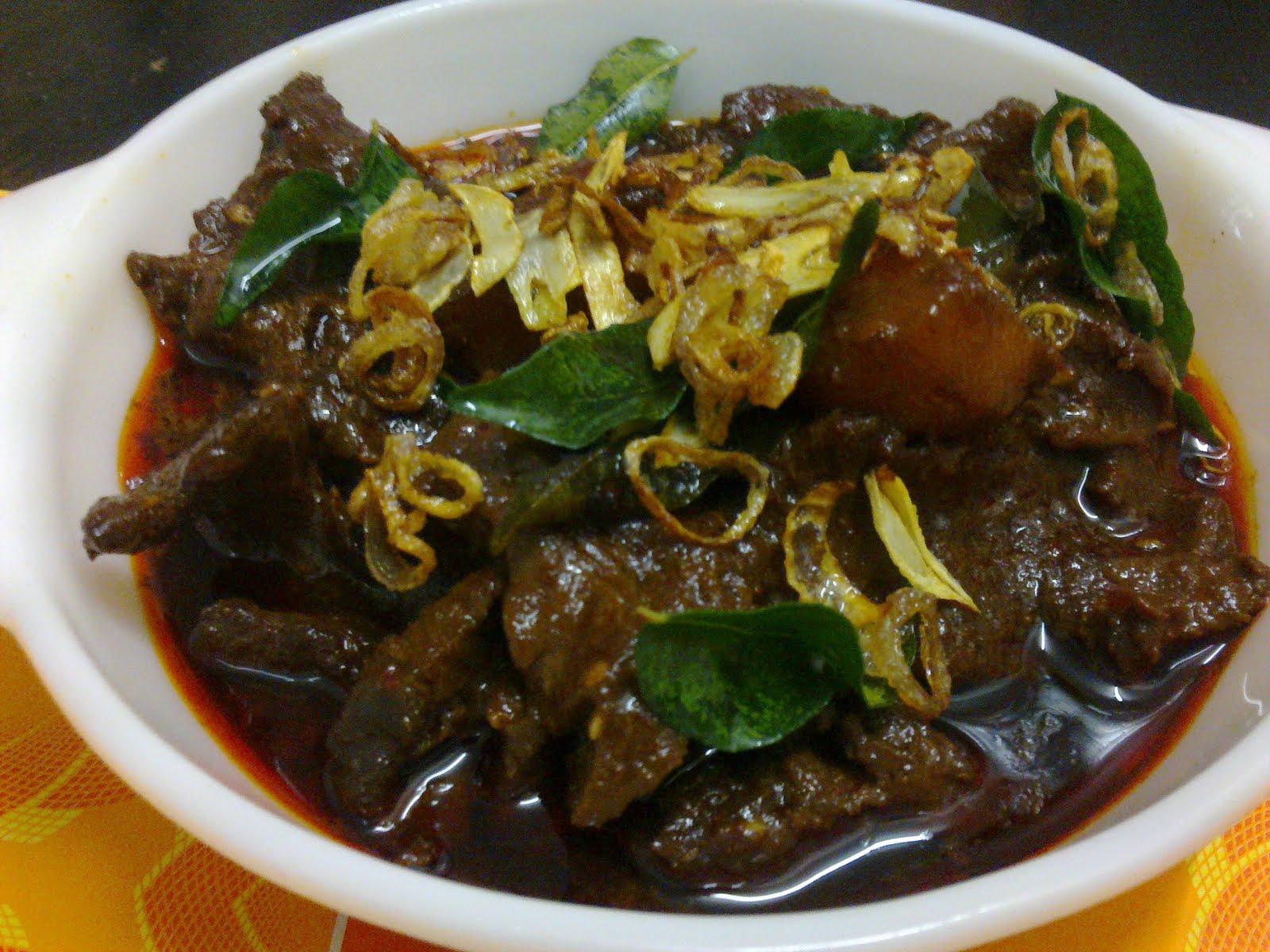 Daging Masak Hitam Mamak Resepi Daging Masak Hitam Ala