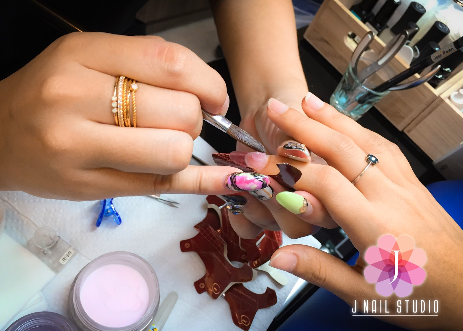 J Nail Studio: Onsite training