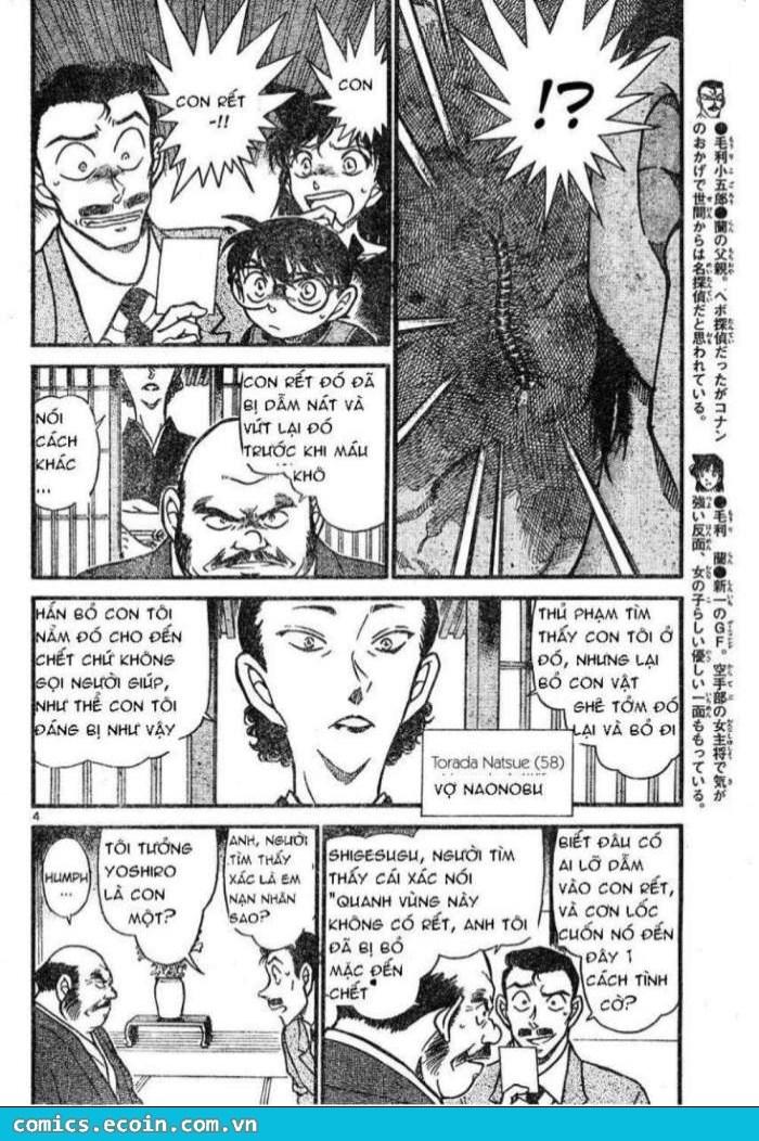 Detective Conan - Thám Tử Lừng Danh Conan chap 613 page 4 - IZTruyenTranh.com