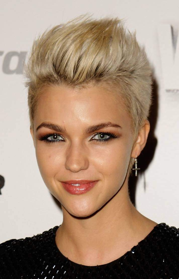 Short and spiky is always cool do a mini mohawk like this one or