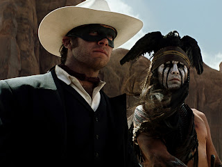 The Lone Ranger Johny Reid and Tonto HD Wallpaper