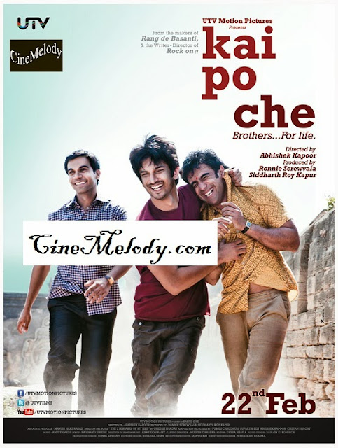 Kai Po Che  Hindi Mp3 Songs Free  Download  2013