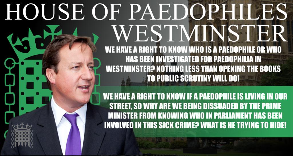David Cameron, paedophile protector