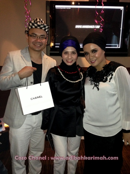 Coco Chanel Dear Hanis Haizi Party by cdm Adibah Karimah