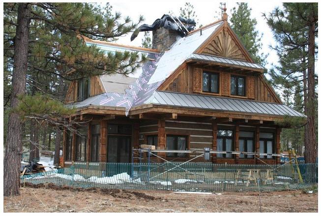 The oak and the antler modern viking scandinavian house for The scandinavian home