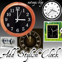 stylish clock blogger