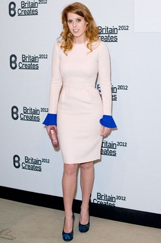 Princess Beatrice at the Fashion & Art Gala