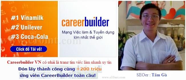Careerbuilder VN có phải là trang tim viec lam nhanh uy tín
