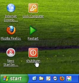 single click untuk membuka program