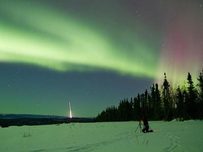 Auroras Boreales 08 de Julio de 2012