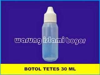Jual Botol Tetes Plastik HDPE 30ml